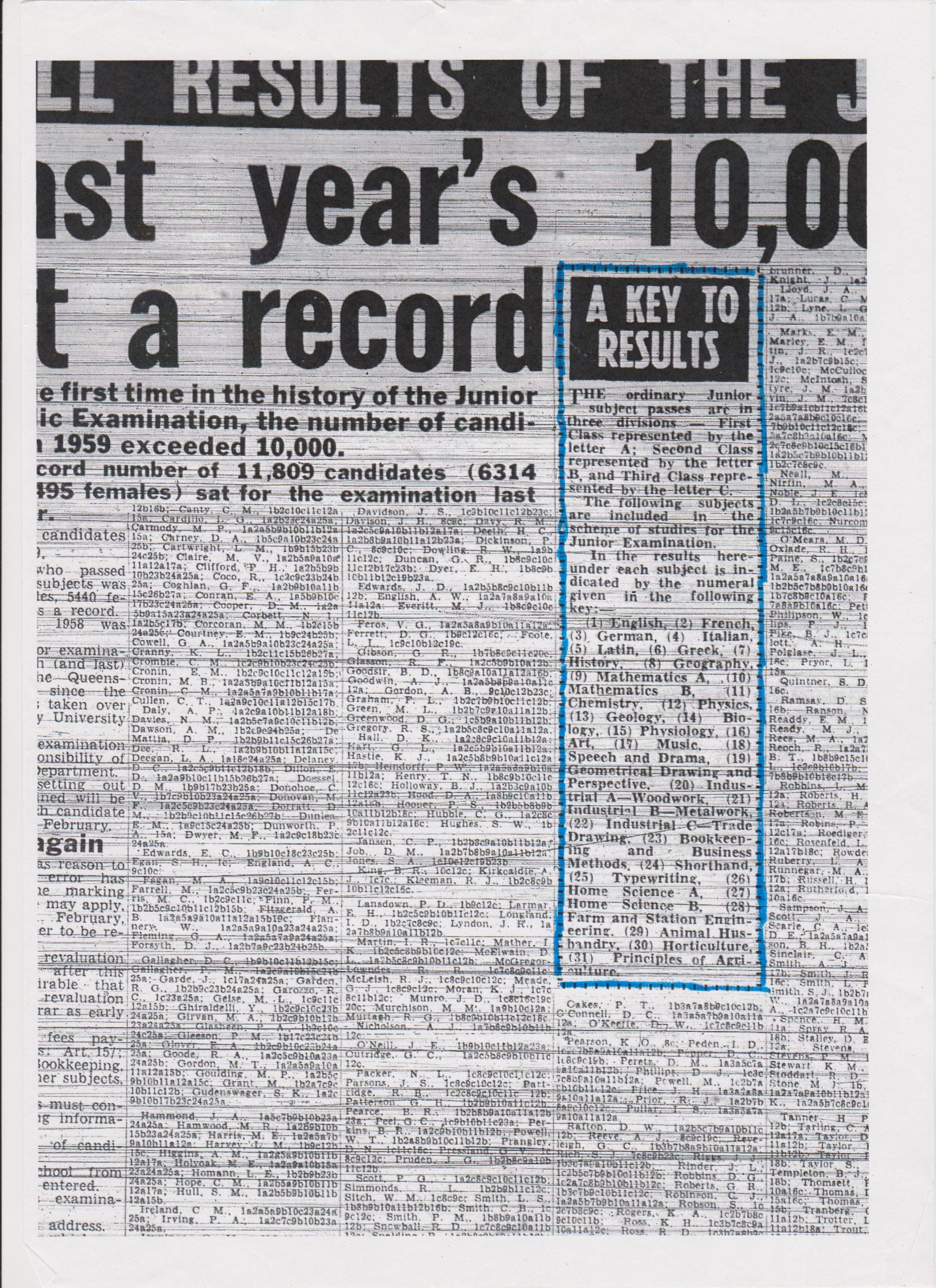 1959 Junior Results 03