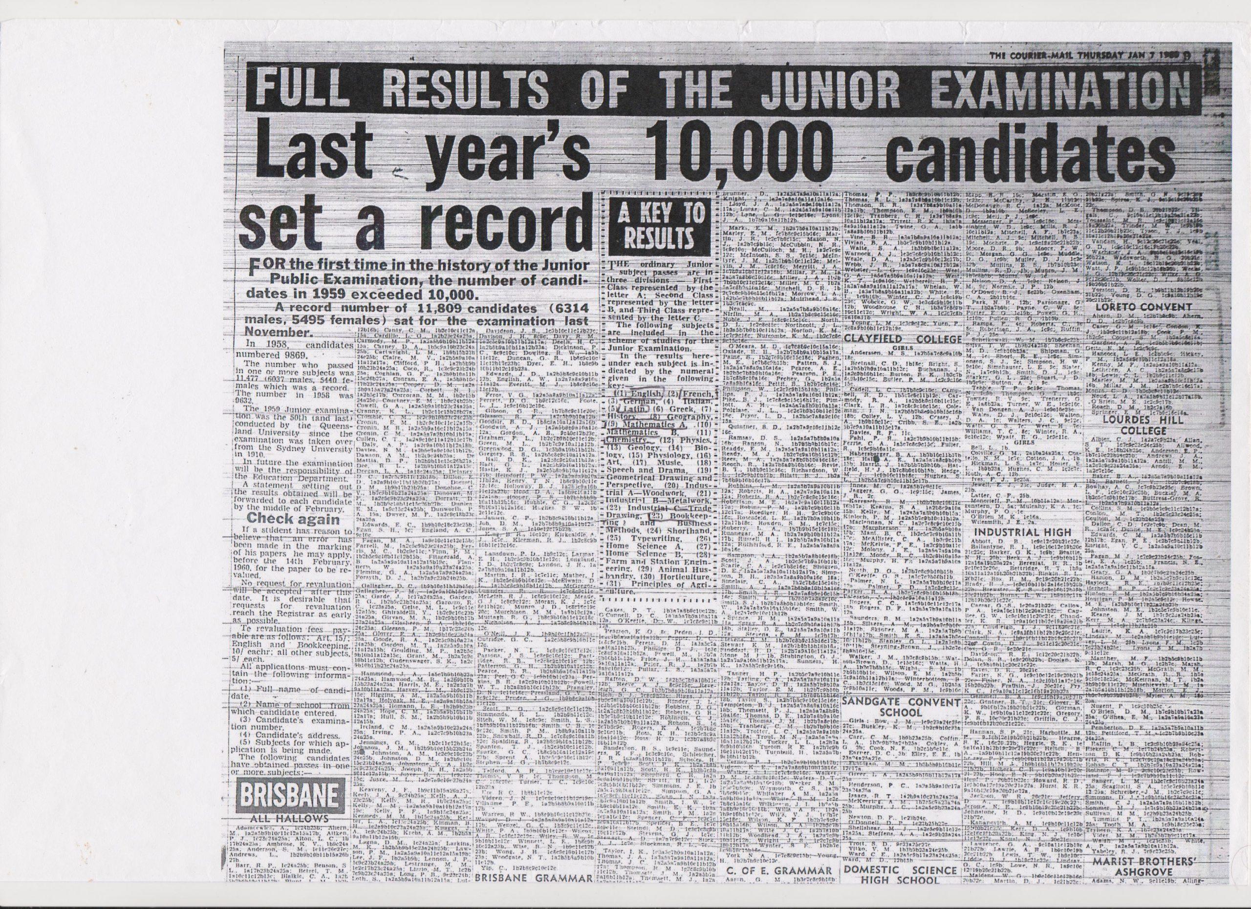 1959 Junior Results 01